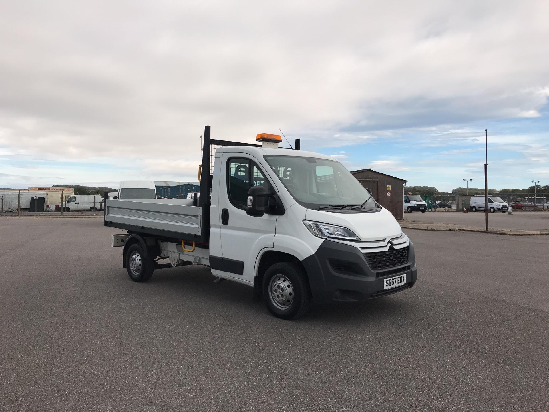 2017 Citroen Relay 35 L2 ENTERPRISE BLUE 2.0 HDI 130BHP TIPPER. AIR CON. SAT NAV (SG67EOX)