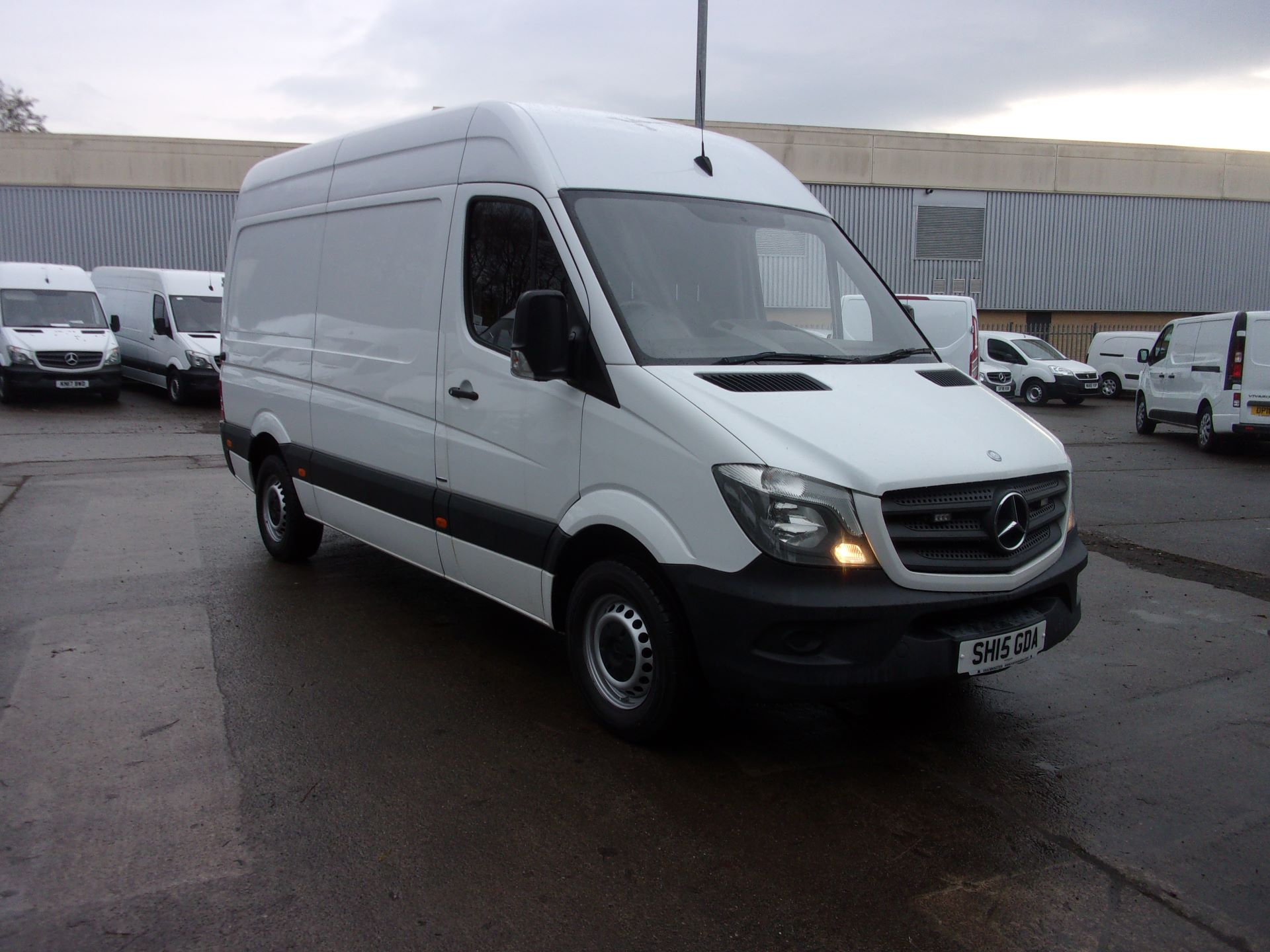 2015 Mercedes-Benz Sprinter 316 MWB HIGH ROOF EURO 5 (SH15GDA)