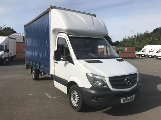 2016 Mercedes-Benz Sprinter 3.5T LUTON CURTAINSIDE (SH16NZG)