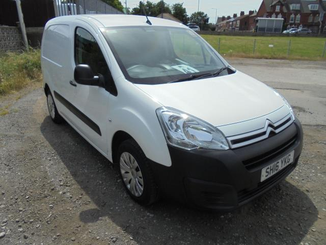 2016 Citroen Berlingo  L1 DIESEL 1.6 HDI 625KG ENTERPRISE 75PS EURO 4/5 (SH16YKG)