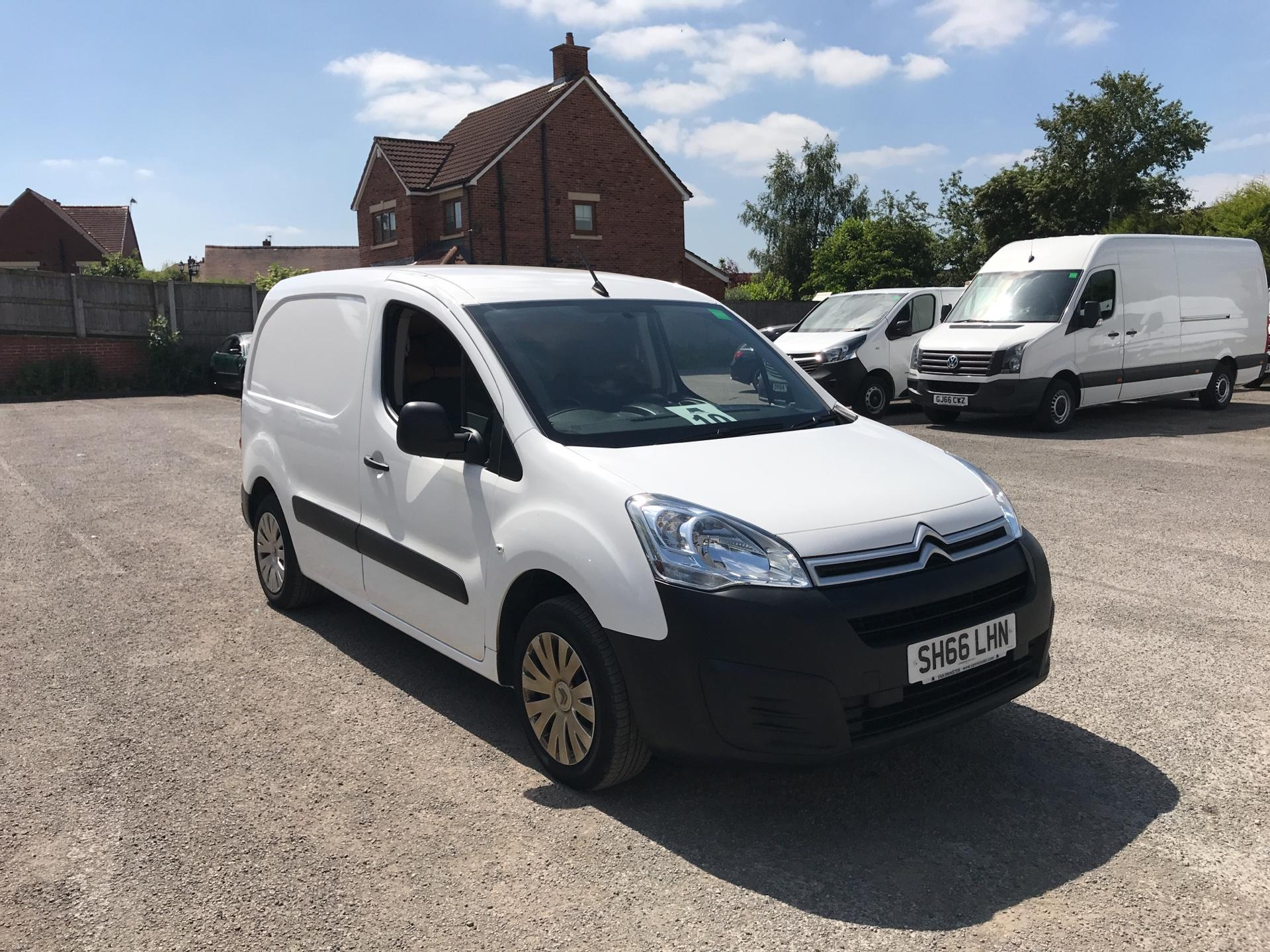 2016 Citroen Berlingo 1.6 Bluehdi 625Kg Enterprise 75Ps EURO 4/5 (SH66LHN)
