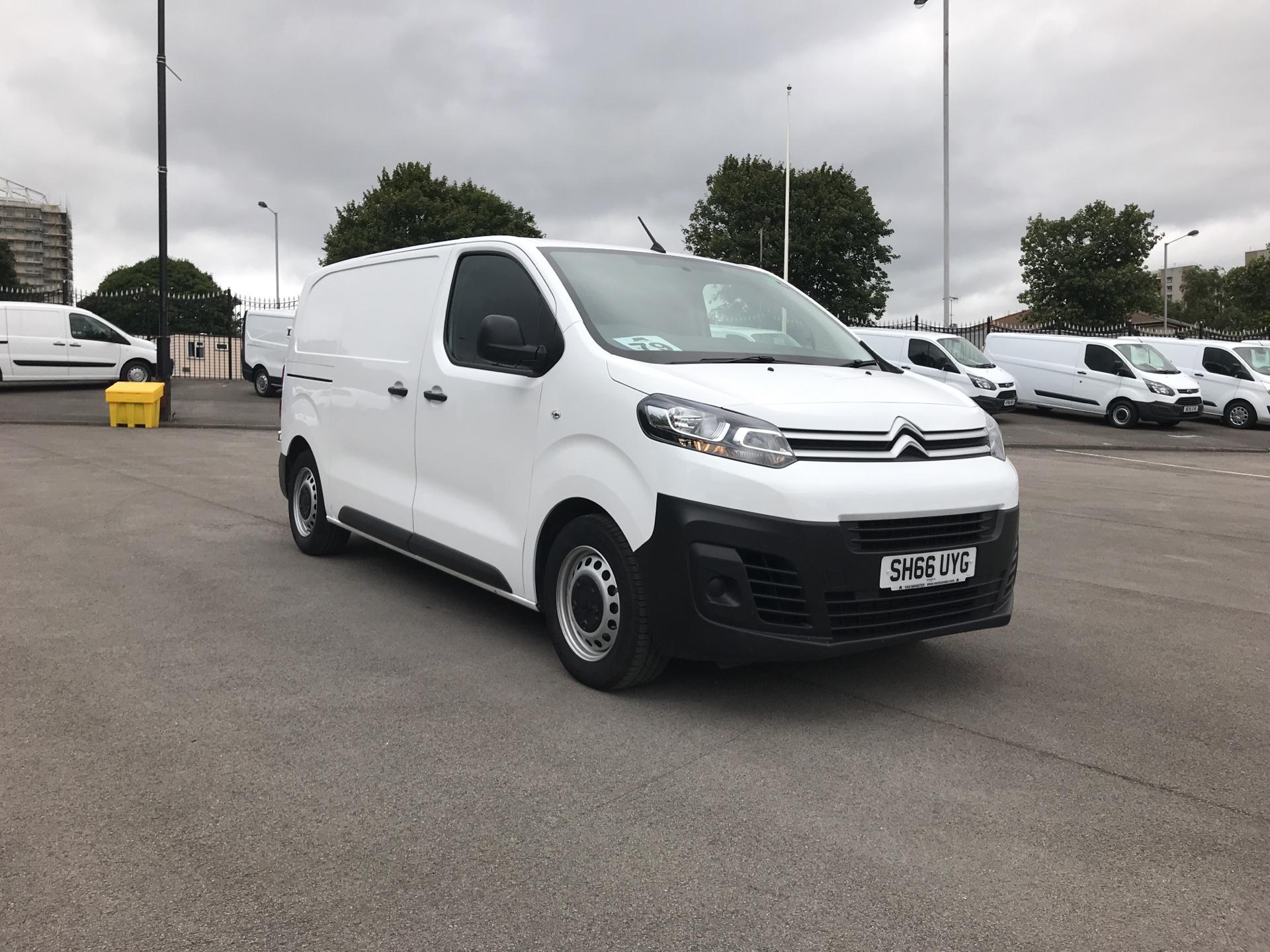 2016 Citroen Dispatch 1000 1.6 Bluehdi 95 Van X (SH66UYG)