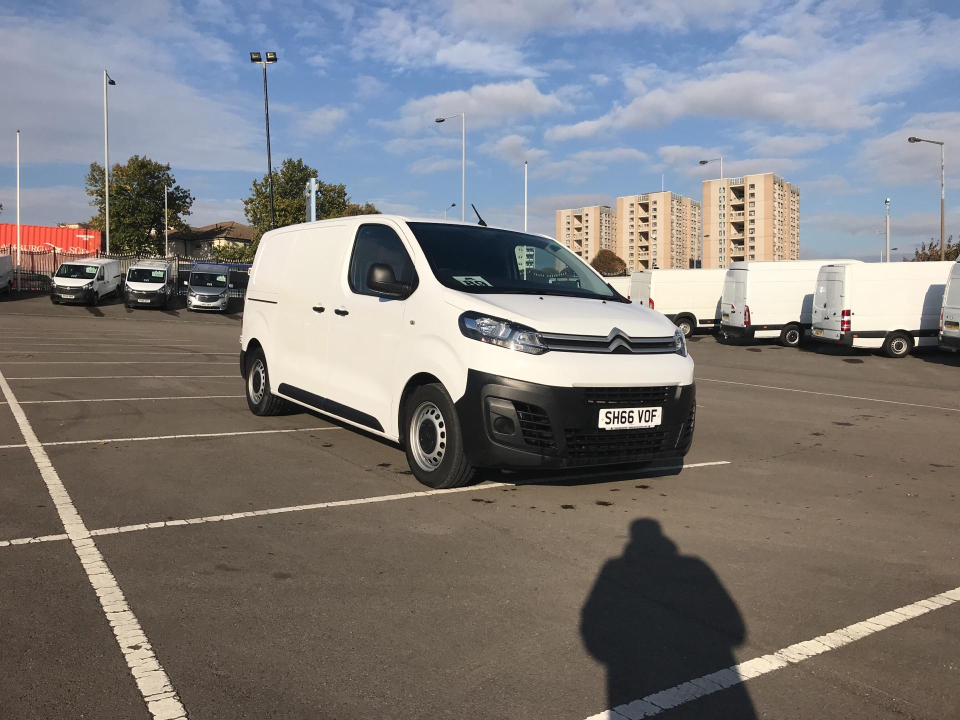2016 Citroen Dispatch 1000 1.6 Bluehdi 115 Van X (SH66VOF)