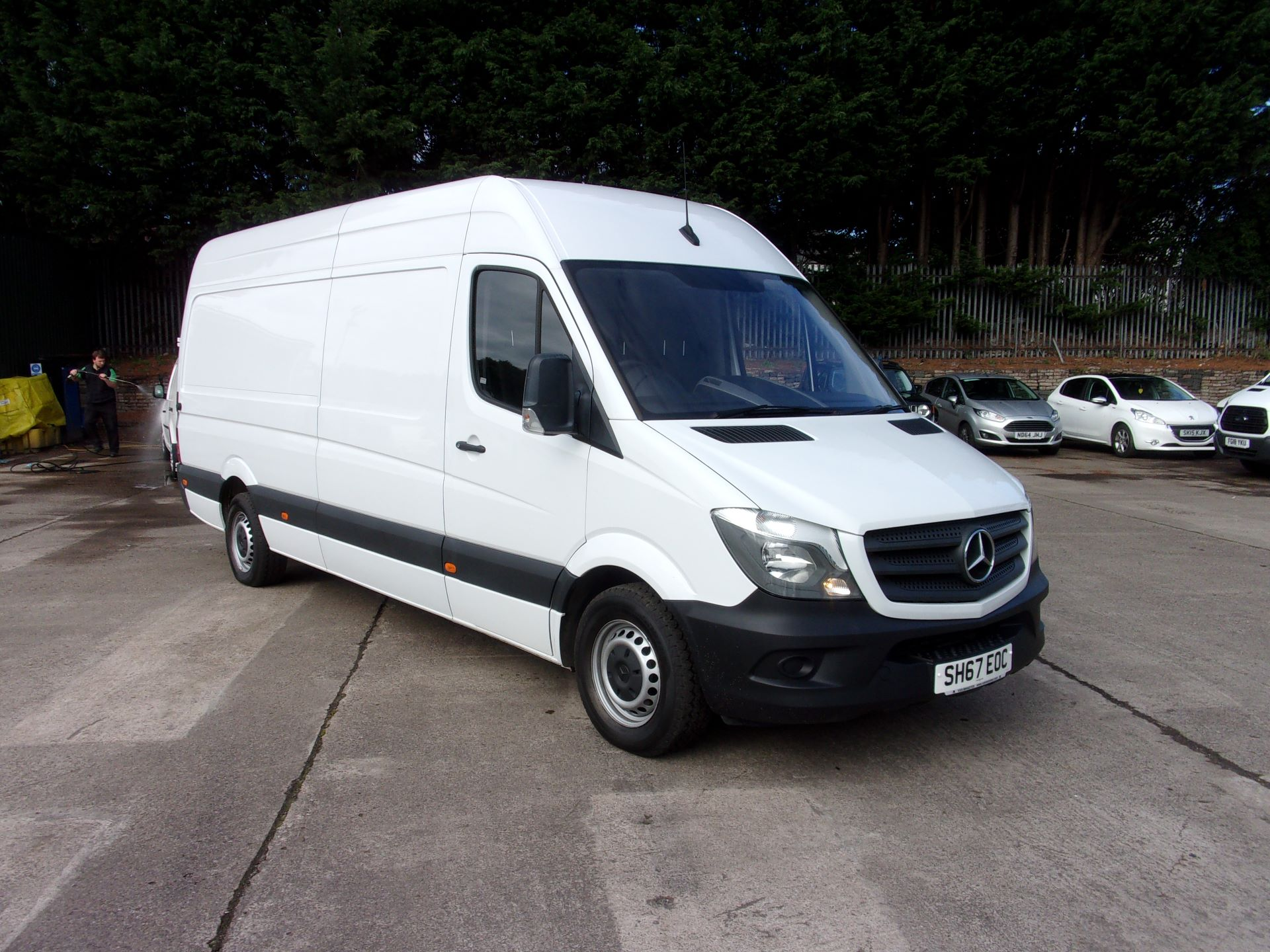 2017 Mercedes-Benz Sprinter 314 CDI MWB HIGH ROOF EURO 6 (SH67EOC)