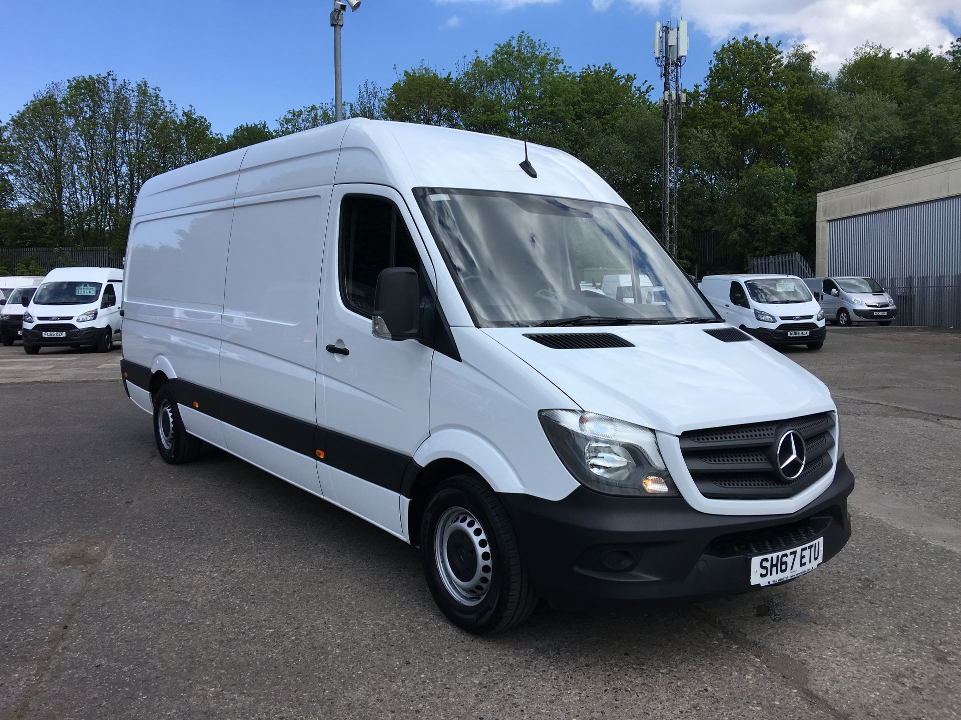 2017 Mercedes-Benz Sprinter 314 LWB HIGH ROOF VAN EURO 6 (SH67ETU)
