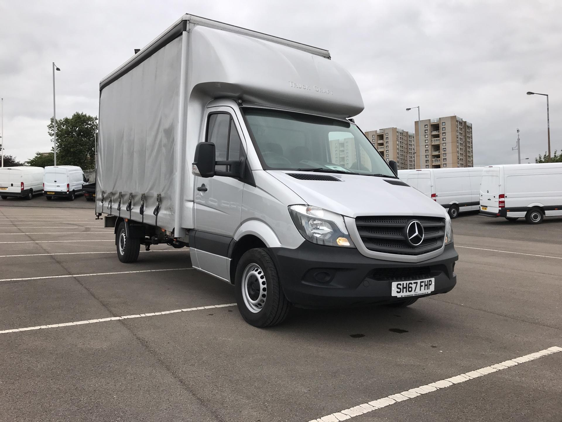 2017 Mercedes-Benz Sprinter 314CDI LWB LUTON CURTAINSIDE EURO6  (SH67FHP)