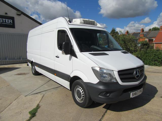 2018 Mercedes-Benz Sprinter  314 LWB H/R VAN EURO 6 - FRIDGE / FREEZER (SH67FKO)