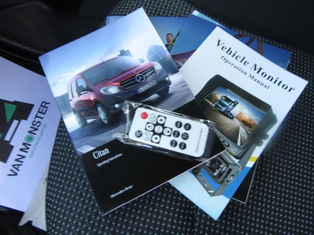 2017 Mercedes-Benz Citan  LWB 109 CDI VAN EURO 6  **SPEED LIMITED TO 68MPH** (SH67FLB) Image 30
