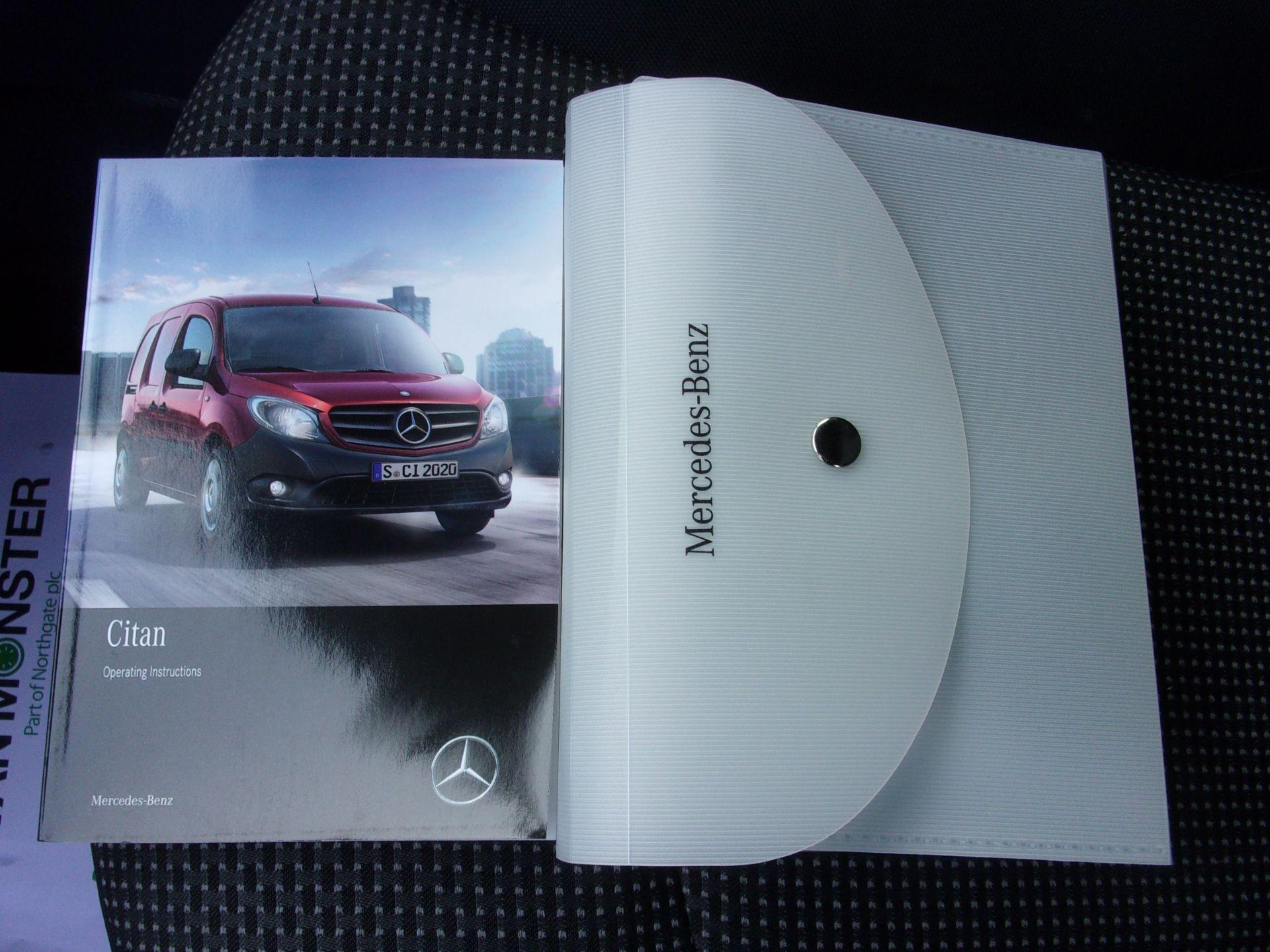 2017 Mercedes-Benz Citan Long Diesel 109 CDI VAN EURO 5 (SH67FMJ) Image 22