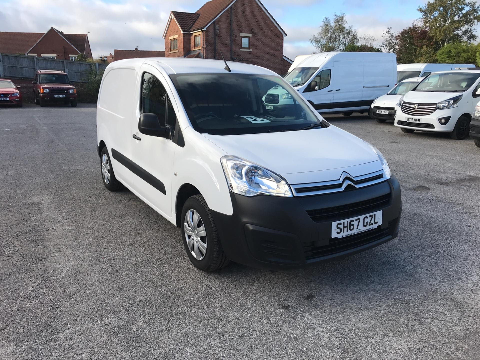 2017 Citroen Berlingo  L1 DIESEL 1.6 BlueHDI 625KG ENTERPRISE 75PS EURO 6 (SH67GZL)