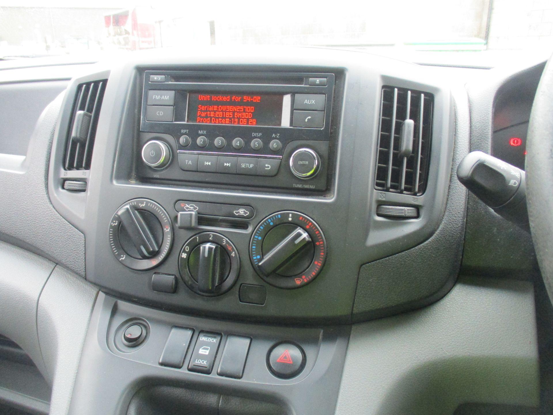 2014 Nissan Nv200 1.5 DCI ACENTA EURO 5 (SJ14YBR) Image 15