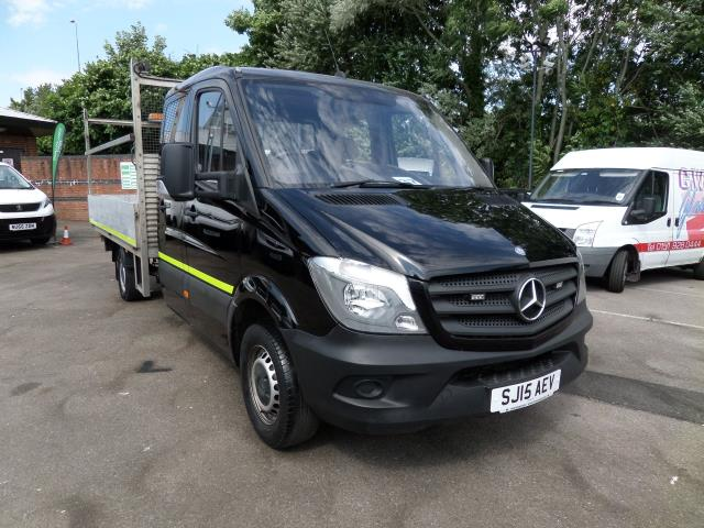 2015 Mercedes-Benz Sprinter 3.5T  DROPSIDE DOUBLE CAB EURO 5 (SJ15AEV)