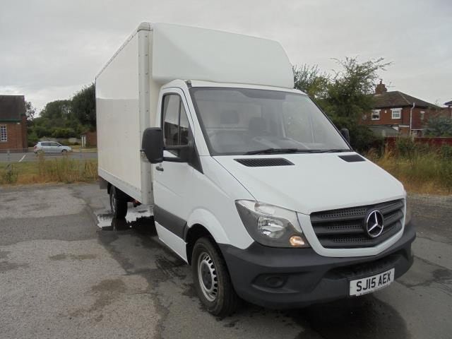 2015 Mercedes-Benz Sprinter 3.5T Blueefficiency Luton (SJ15AEX)