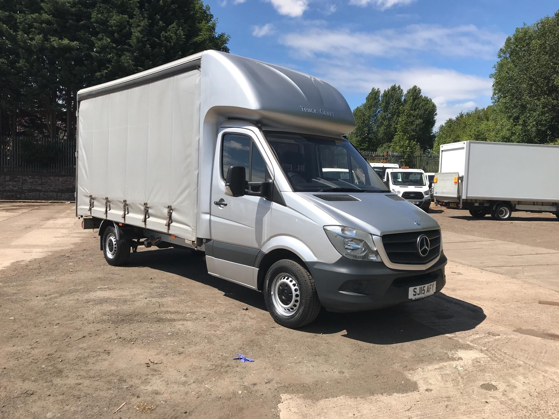2015 Mercedes-Benz Sprinter 313 LWB LONG LUTON CURTAINSIDER EURO 5 (SJ15AFY)
