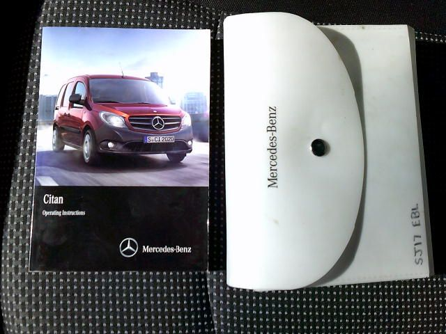 2017 Mercedes-Benz Citan Long Diesel 109Cdi Van (SJ17EBL) Image 21