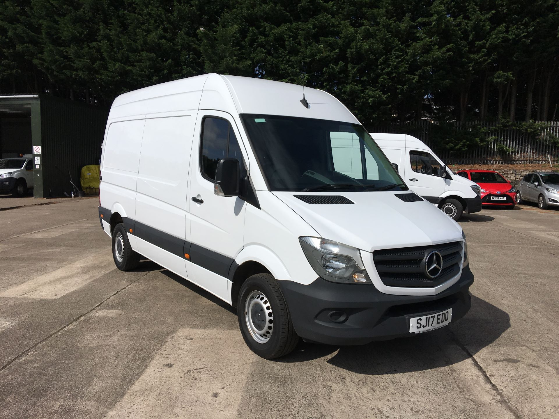 2017 Mercedes-Benz Sprinter 314 CDI MWB HIGH ROOF VAN EURO 6 (SJ17EDO)