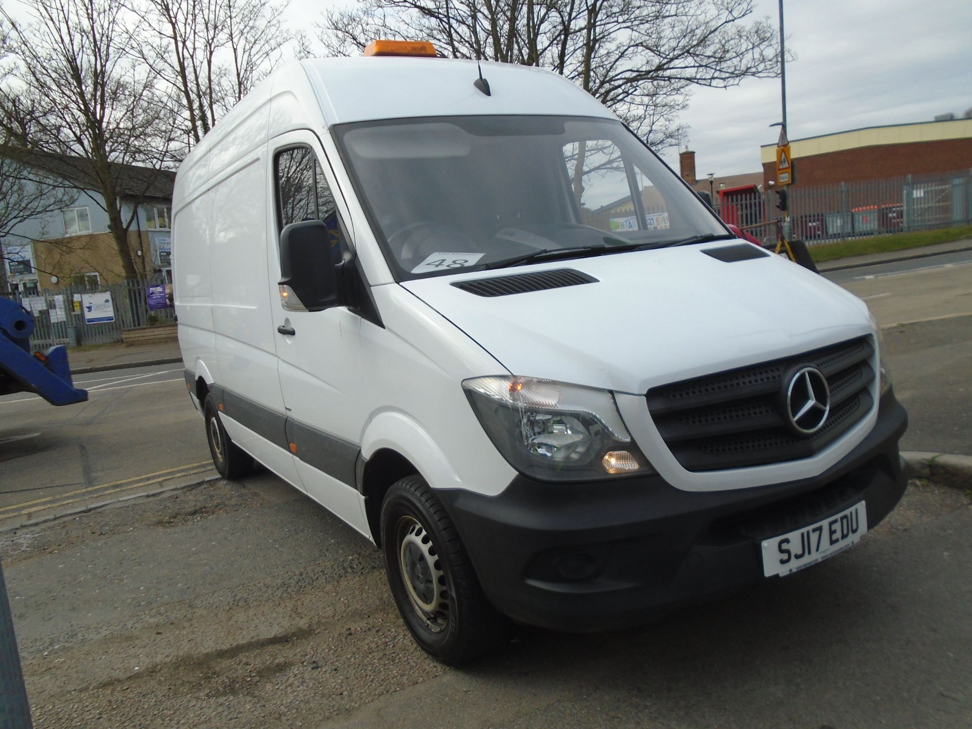 2017 Mercedes-Benz Sprinter 3.5T Van (SJ17EDU) Image 1