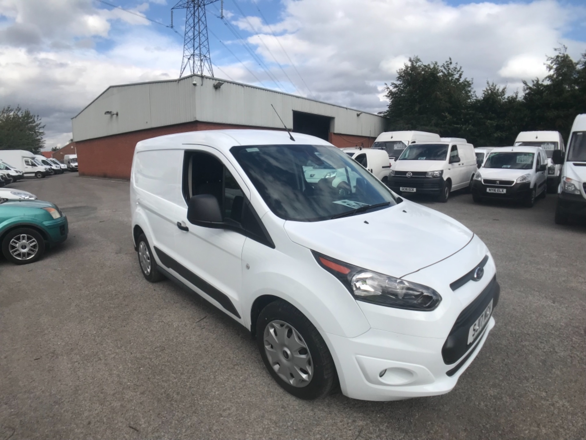 2017 Ford Transit Connect L1 200 1.0  100Ps Trend Van PETROL EURO 5 (SJ17NCH) Image 1