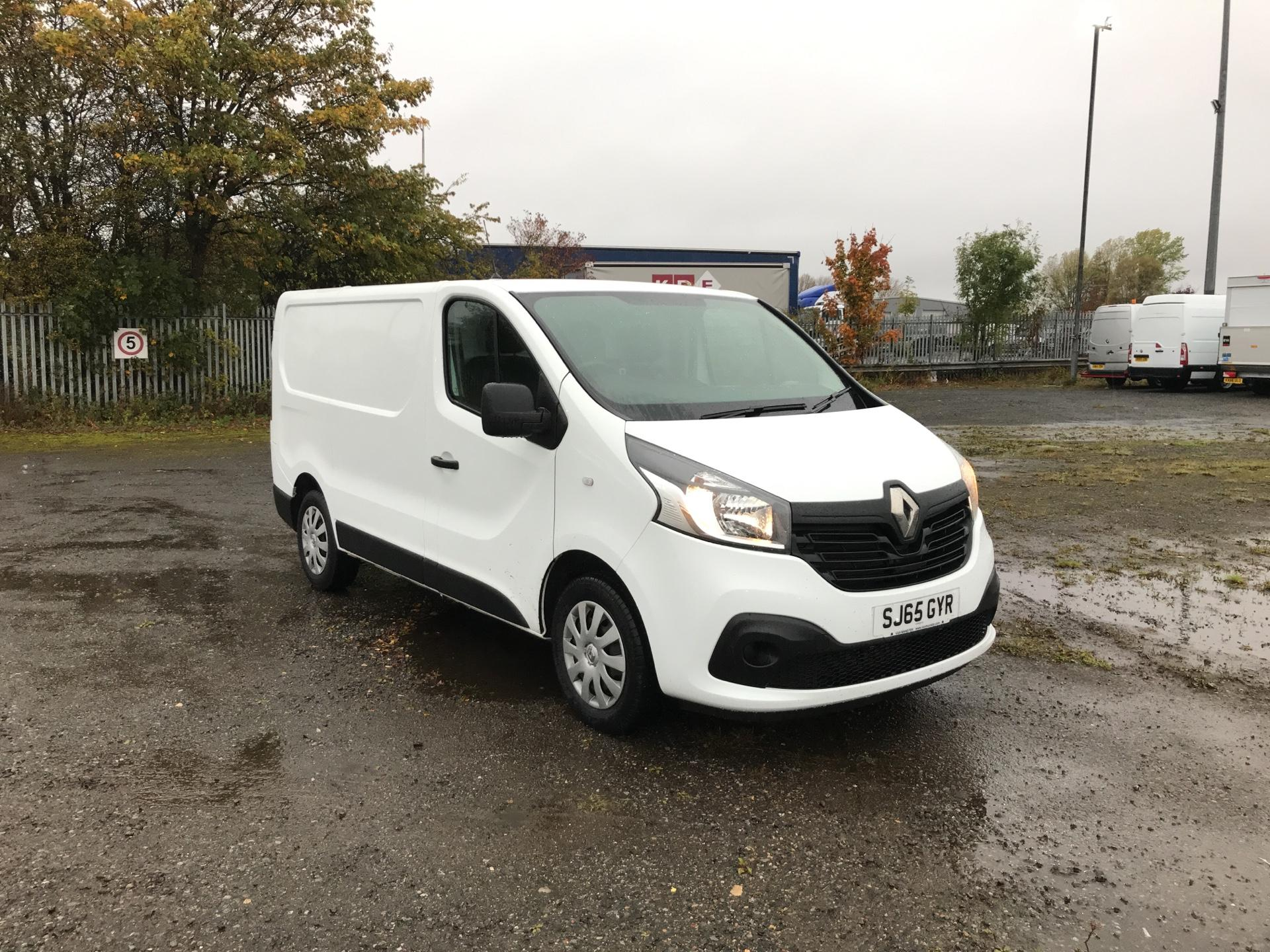 2015 Renault Trafic SWB SL27 ENERGY DCI 120 BUSINESS+ AIR CON EURO 5  (SJ65GYR)