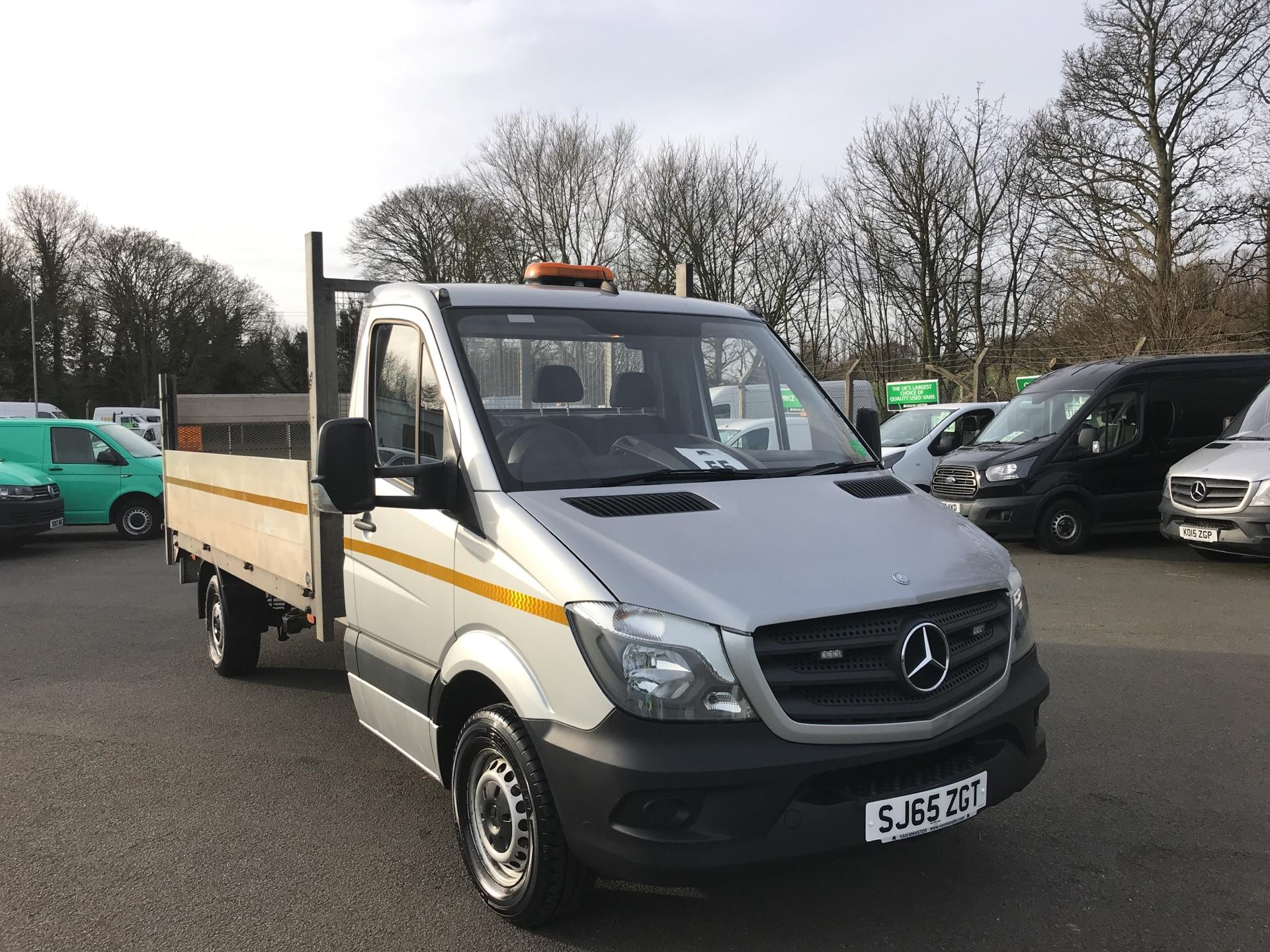 2015 Mercedes-Benz Sprinter  313 LWB DROP SIDE EURO 5 WITH TAIL-LIFT (SJ65ZGT)