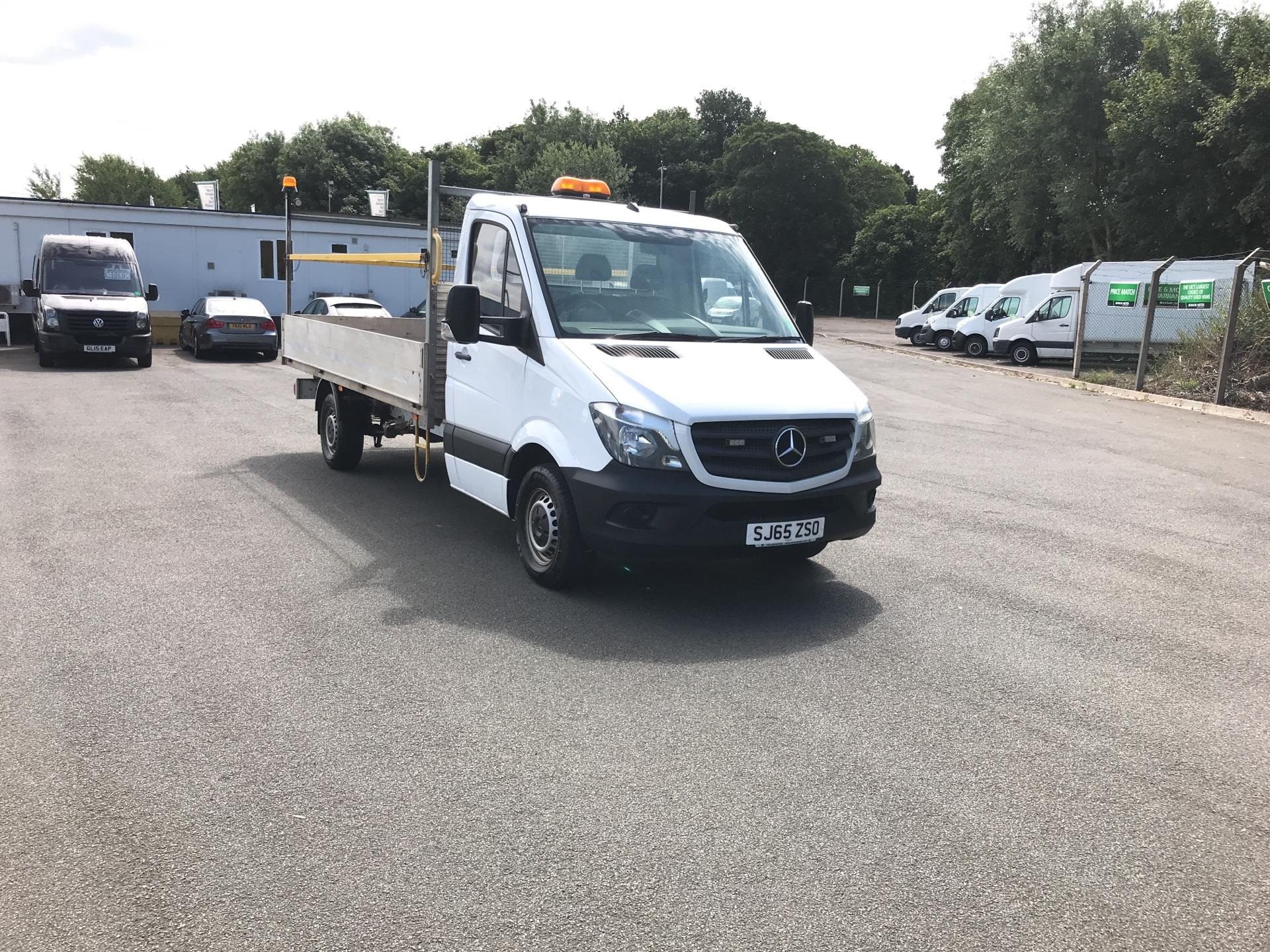 2015 Mercedes-Benz Sprinter 313 cdi 3.5T Blueefficiency Dropside (SJ65ZSO)