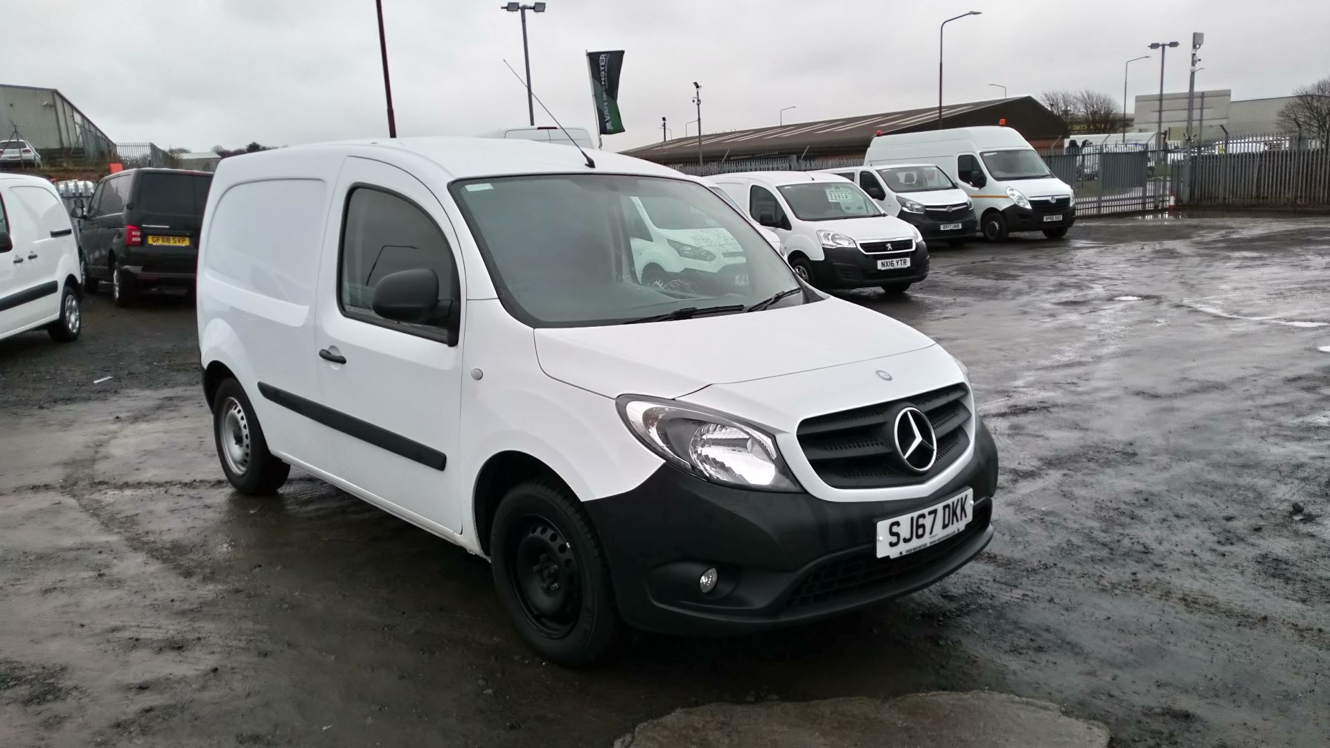 2017 Mercedes-Benz Citan 109 CDI BLUE EFFICIENCY 90PS VAN (SJ67DKK)