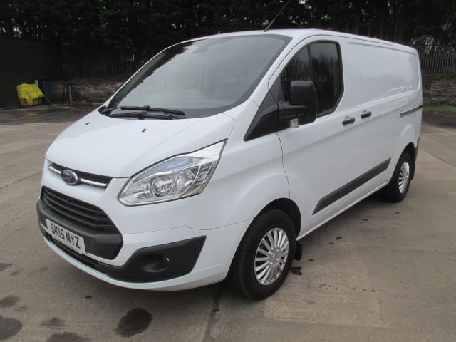 2015 Ford Transit Custom 270 2.2 Tdci 125Ps Low Roof Trend Van (SK15NYZ) Image 21
