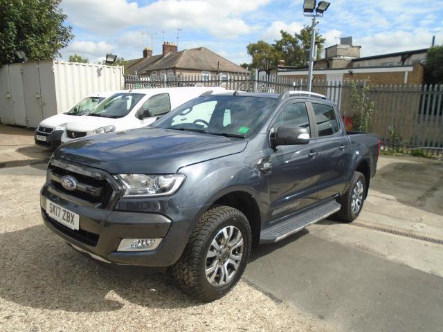 2017 Ford Ranger Pick Up Double Cab Wildtrak 3.2 Tdci 200 Auto  (SK17ZBX) Image 3