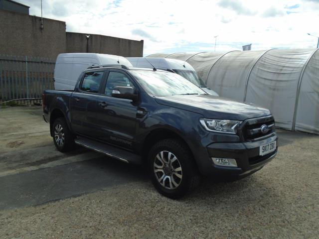 2017 Ford Ranger Pick Up Double Cab Wildtrak 3.2 Tdci 200 Auto  (SK17ZBX)