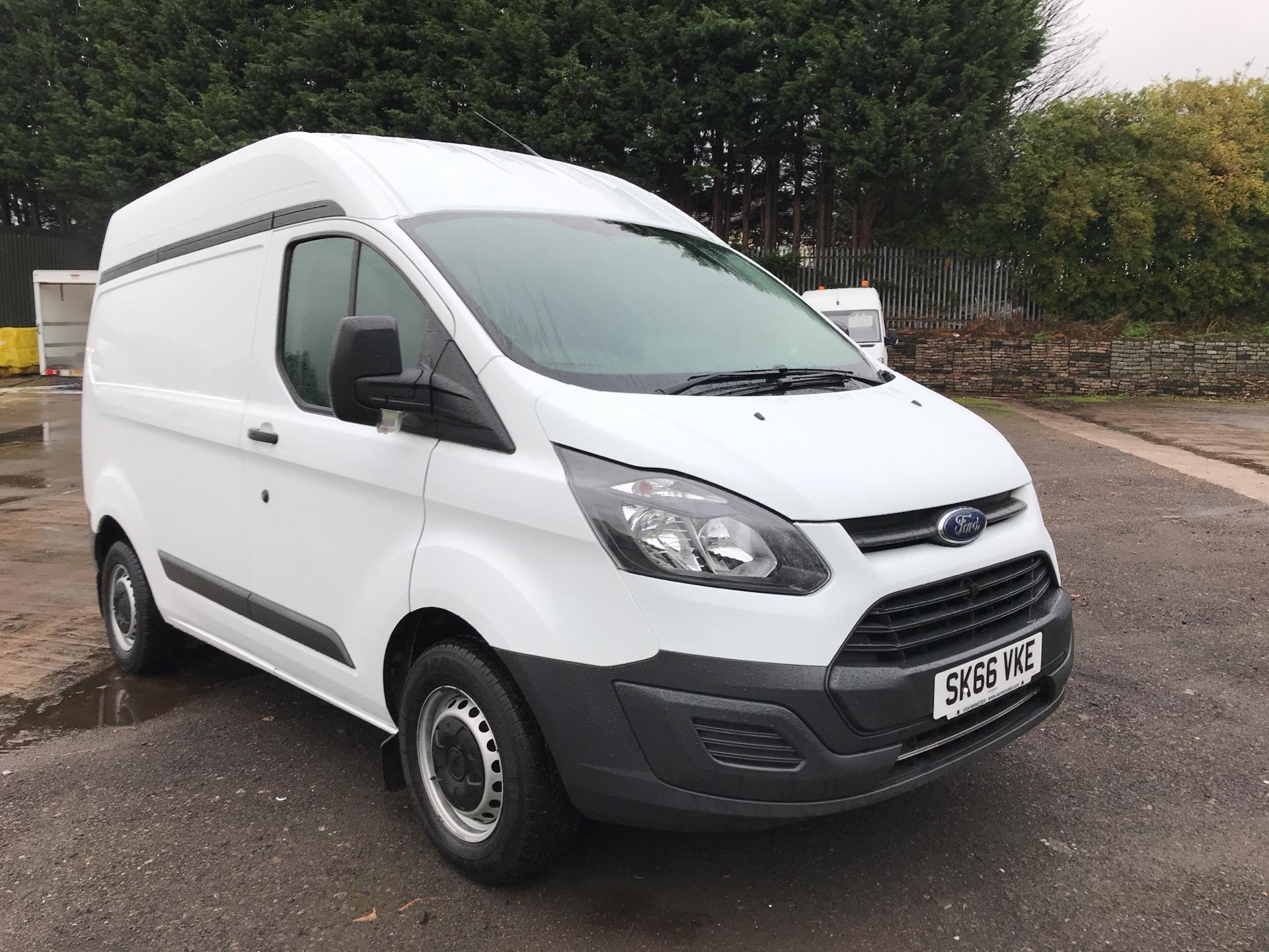 2016 Ford Transit Custom  270 L1 DIESEL FWD 2.2 TDCI 100PS LOW ROOF  EURO 5 (SK66VKE)