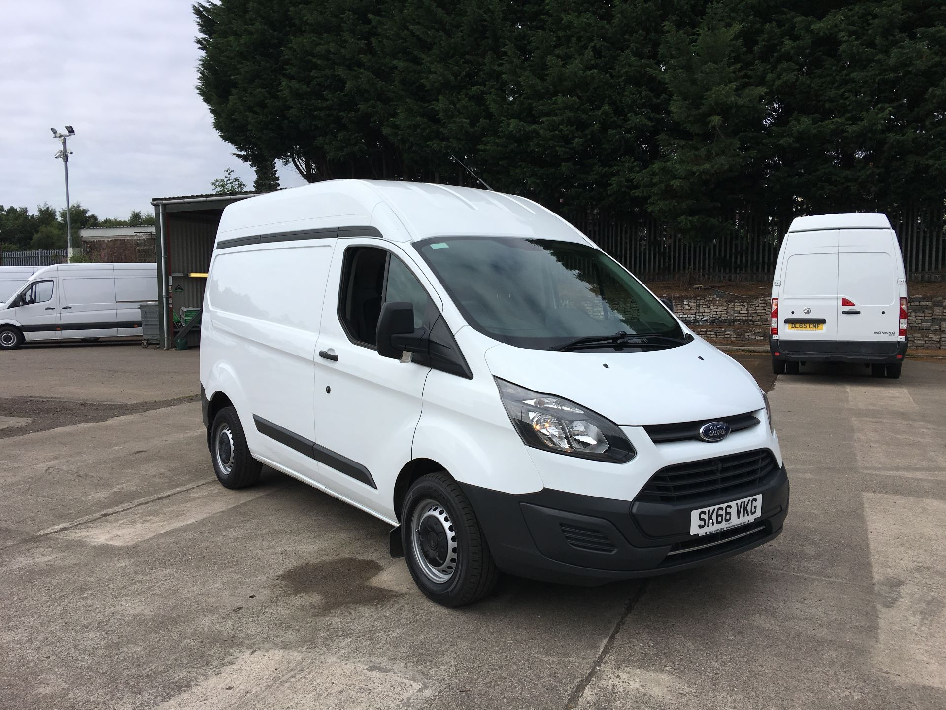 2016 Ford Transit Custom 290 L1 DIESEL FWD 2.0 TDCI 105PS HIGH ROOF VAN EURO 6 (SK66VKG)