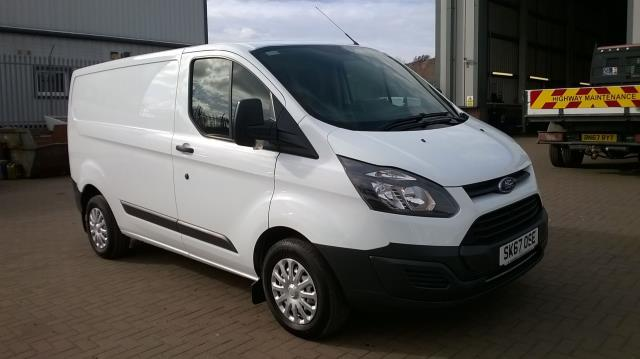 2017 Ford Transit Custom 2.0 TDCI 105PS L1 LOW ROOF VAN EURO6 (SK67OSE)