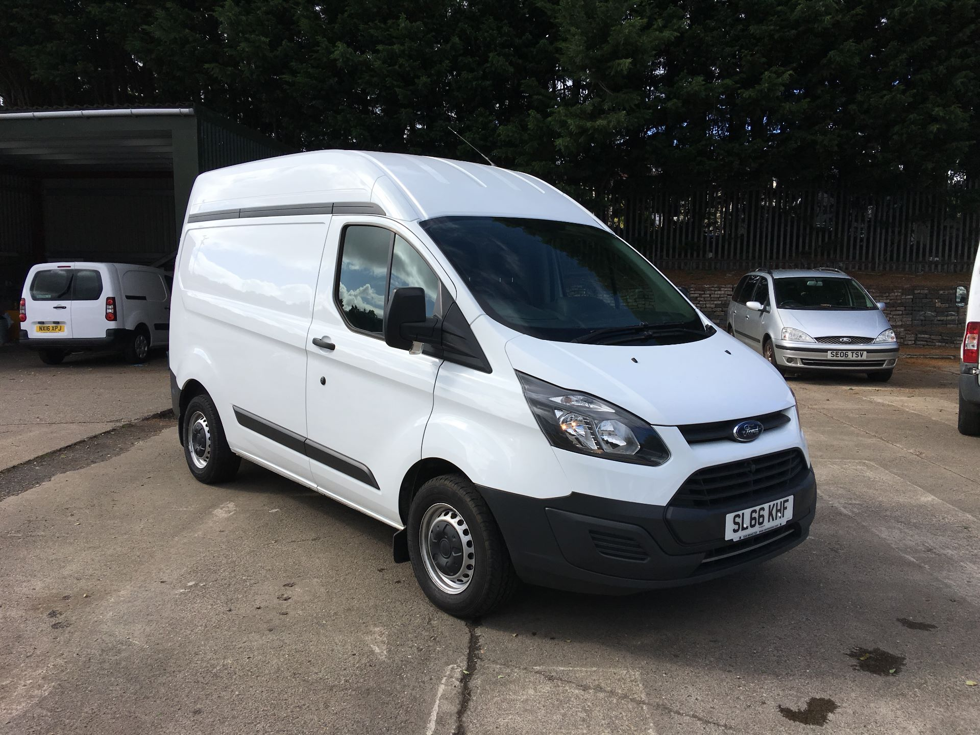 2016 Ford Transit Custom 290 L1 DIESEL FWD 2.0 TDCI 105PS HIGH ROOF VAN EURO 6 (SL66KHF)
