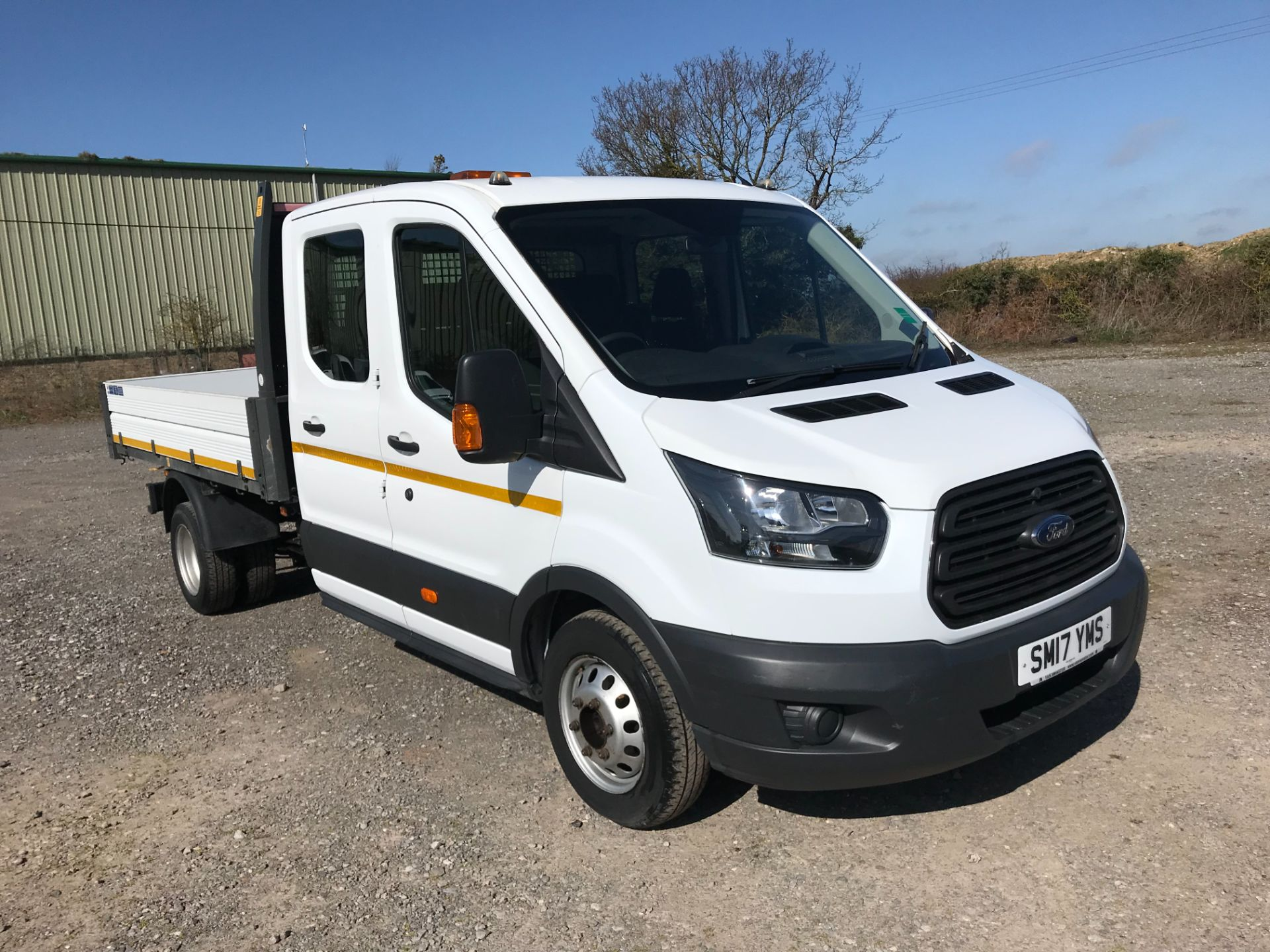 2017 Ford Transit 350 L3 DOUBLE CAB TIPPER 130PS EURO 6 (SM17YMS)
