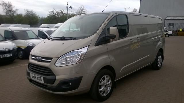2015 Ford Transit Custom 290 L2 DIESEL FWD 2.2 TDCI 125PS LOW ROOF LIMITED VAN EURO 5 (SN15NTG) Image 3