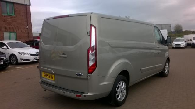 2015 Ford Transit Custom 290 L2 DIESEL FWD 2.2 TDCI 125PS LOW ROOF LIMITED VAN EURO 5 (SN15NTG) Image 15