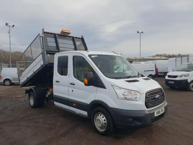 2016 Ford Transit 350 L3 DOUBLE CAB TIPPER 125PS EURO 5 (SN16VOV)