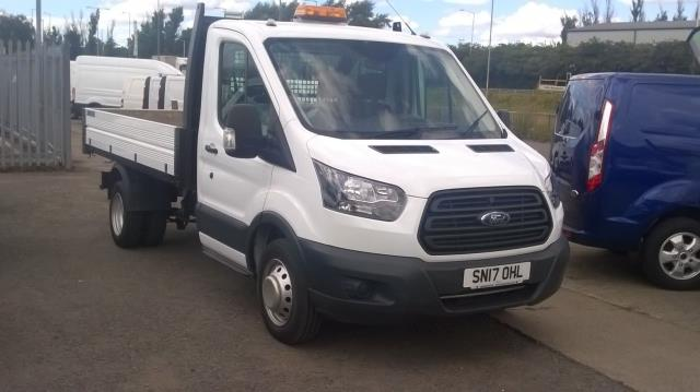 2017 Ford Transit 350 L2 SINGLE CAB TIPPER 130PS EURO 5 (SN17OHL)