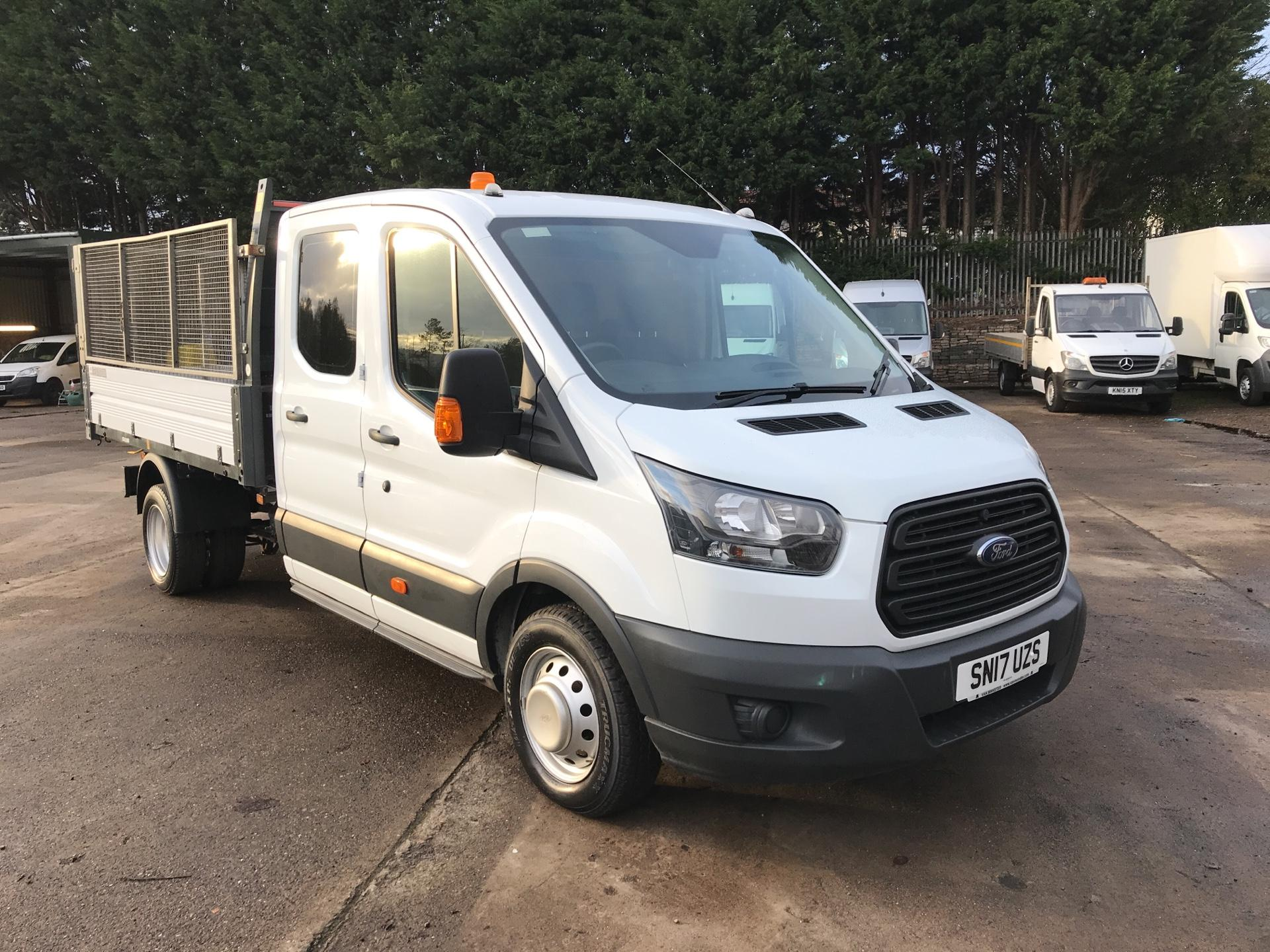 2017 Ford Transit  350 L3 DOUBLE CAB TIPPER 130PS EURO 5  *VALUE RANGE VEHICLE - CONDITION REFLECTED IN PRICE) *NO REAR SEATS* (SN17UZS)