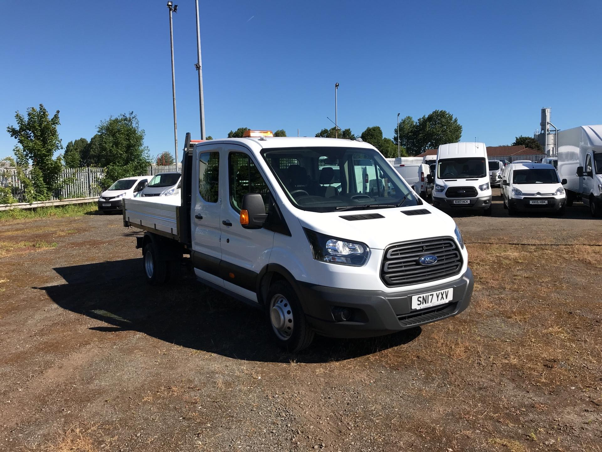 2017 Ford Transit 2.2 T350 DOUBLE CAB DROPSIDE 125PS (SN17YXV)