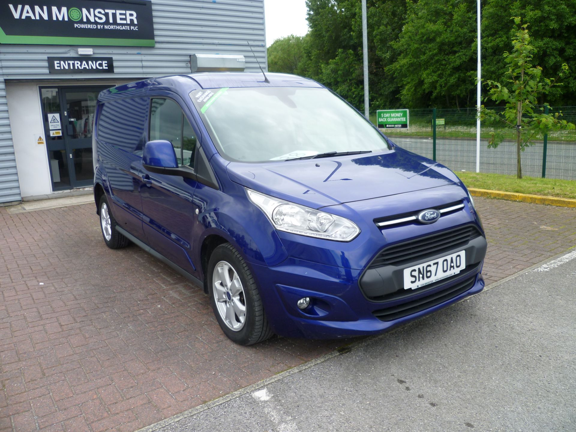 2017 Ford Transit Connect  240 L2 Diesel 1.5 TDCi  120PS Limited Van EURO 6 (SN67OAO)