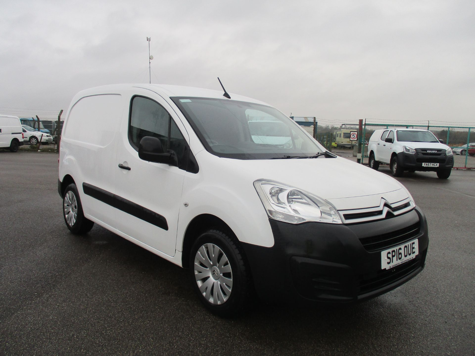 2016 Citroen Berlingo L1 DIESEL 1.6 HDI 625KG ENTERPRISE 75PS EURO 5. AIR CON, 3 SEATER (SP16OUE)