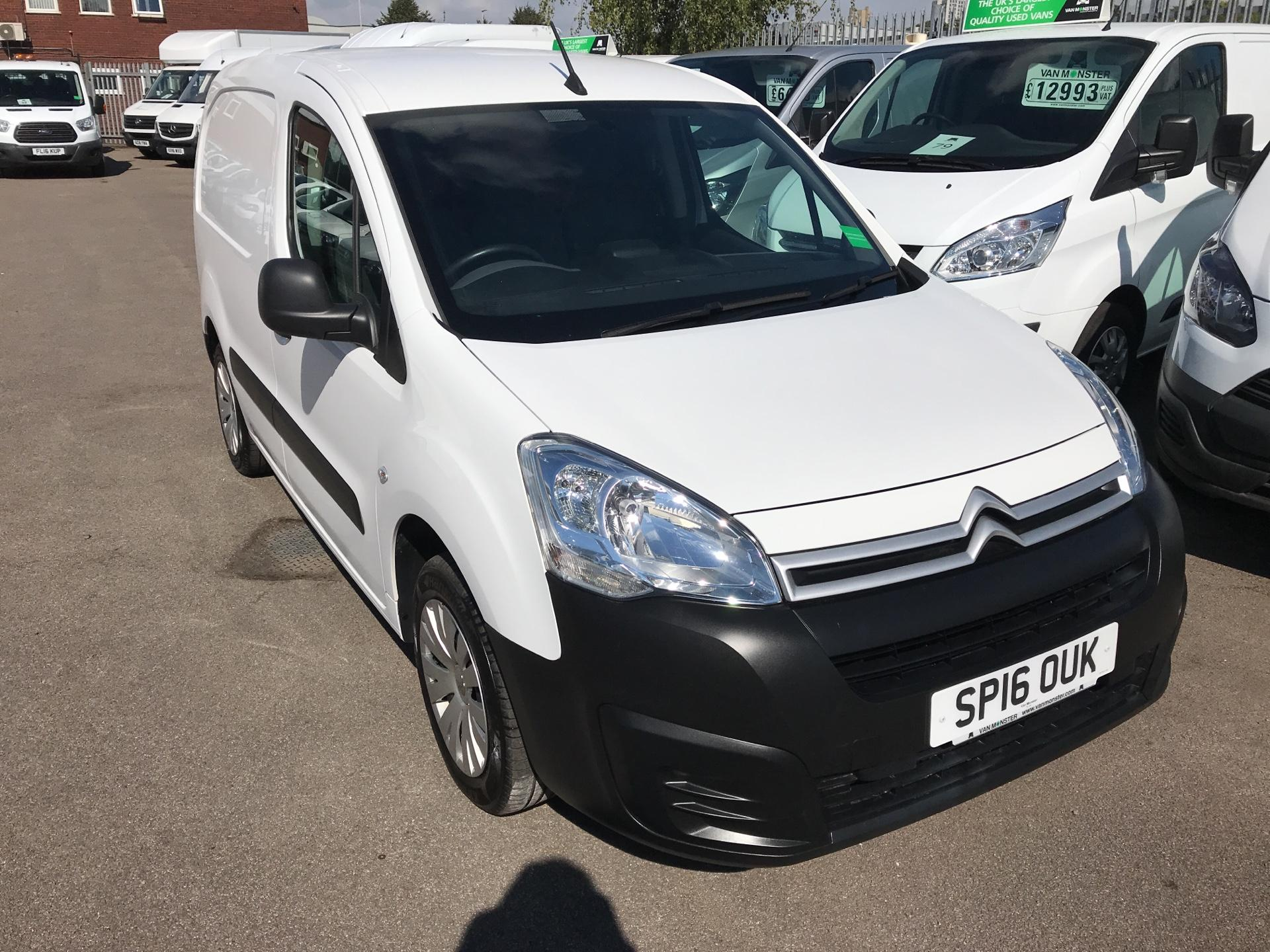 2016 Citroen Berlingo L1 DIESEL 1.6 HDI 625KG ENTERPRISE 75PS EURO 4/5 (A/C/SAT NAV) (SP16OUK)