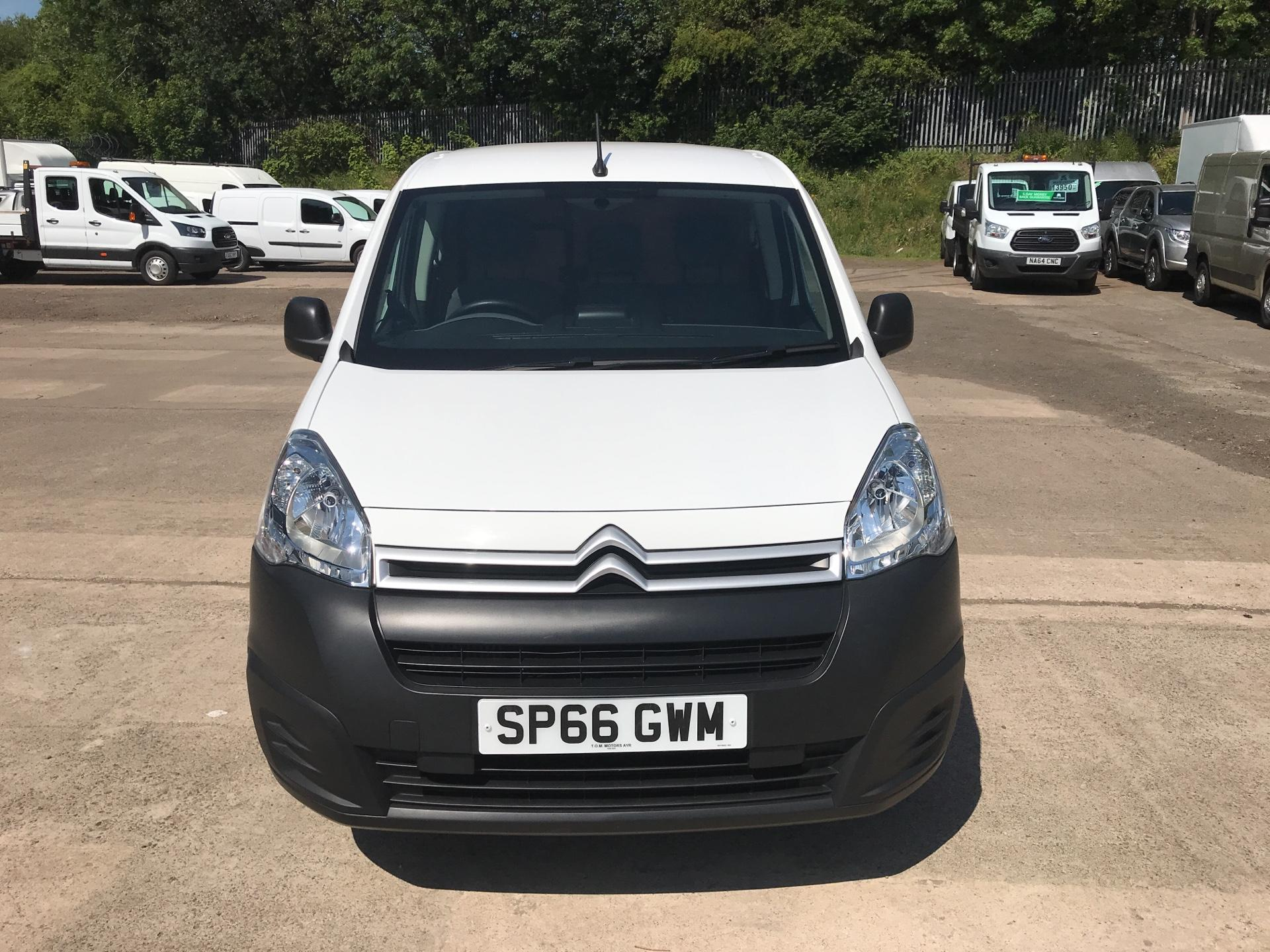 2016 Citroen Berlingo L1 DIESEL 1.6 HDI 625KG ENTERPRISE 75PS EURO 4/5 (SP66GWM) Image 8