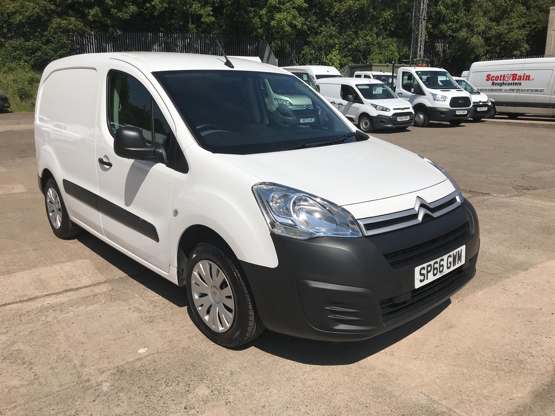 2016 Citroen Berlingo L1 DIESEL 1.6 HDI 625KG ENTERPRISE 75PS EURO 4/5 (SP66GWM)