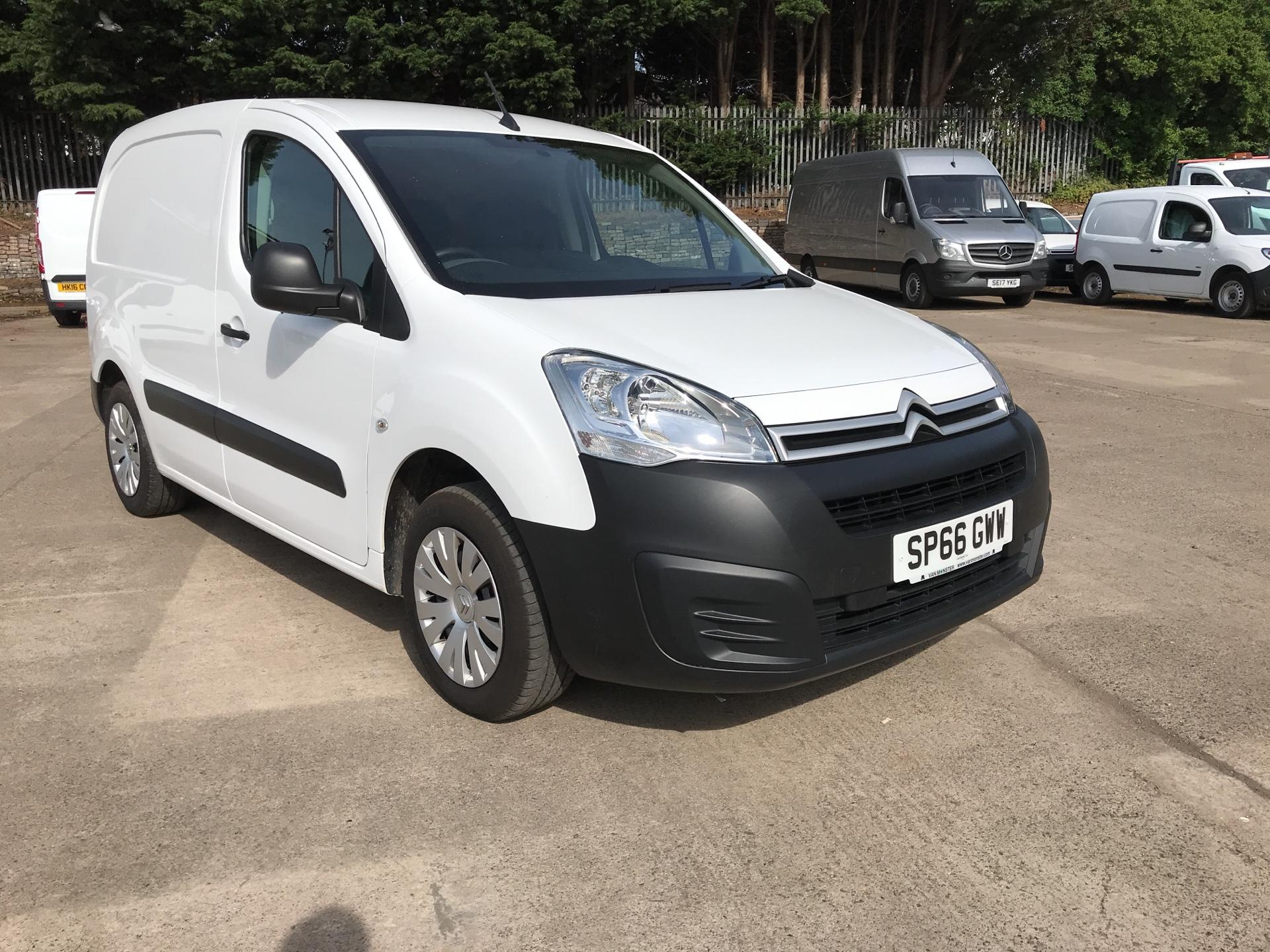 2016 Citroen Berlingo L1 DIESEL 1.6 HDI 625KG ENTERPRISE 75PS EURO 4/5 (SP66GWW)