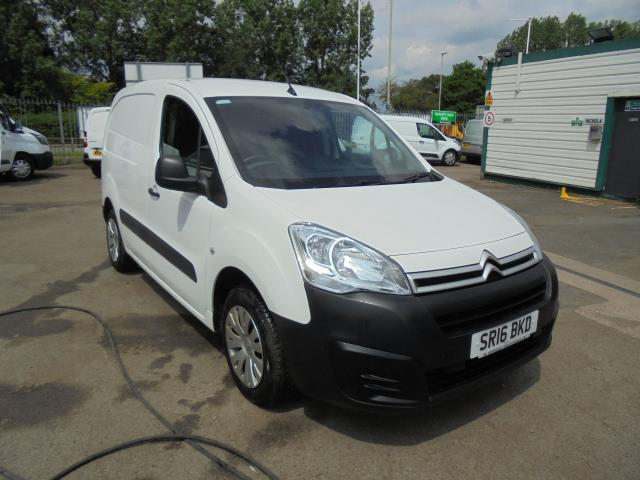 2016 Citroen Berlingo 1.6 HDI 625 LX (SAT NAV/AIR CON/PARKING SENSORS) (SR16BKD)