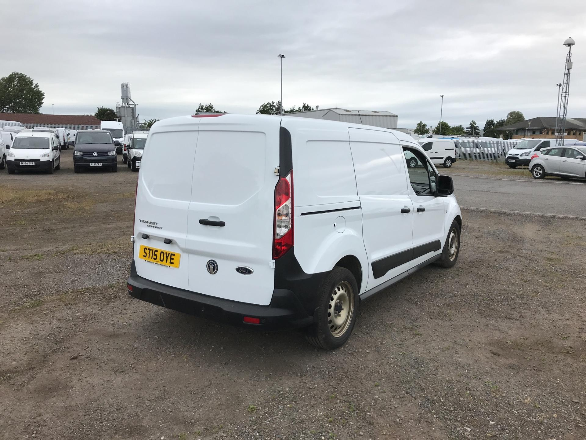 2015 Ford Transit Connect 1.6 Tdci 95Ps D/Cab Van (ST15OYE) Image 3