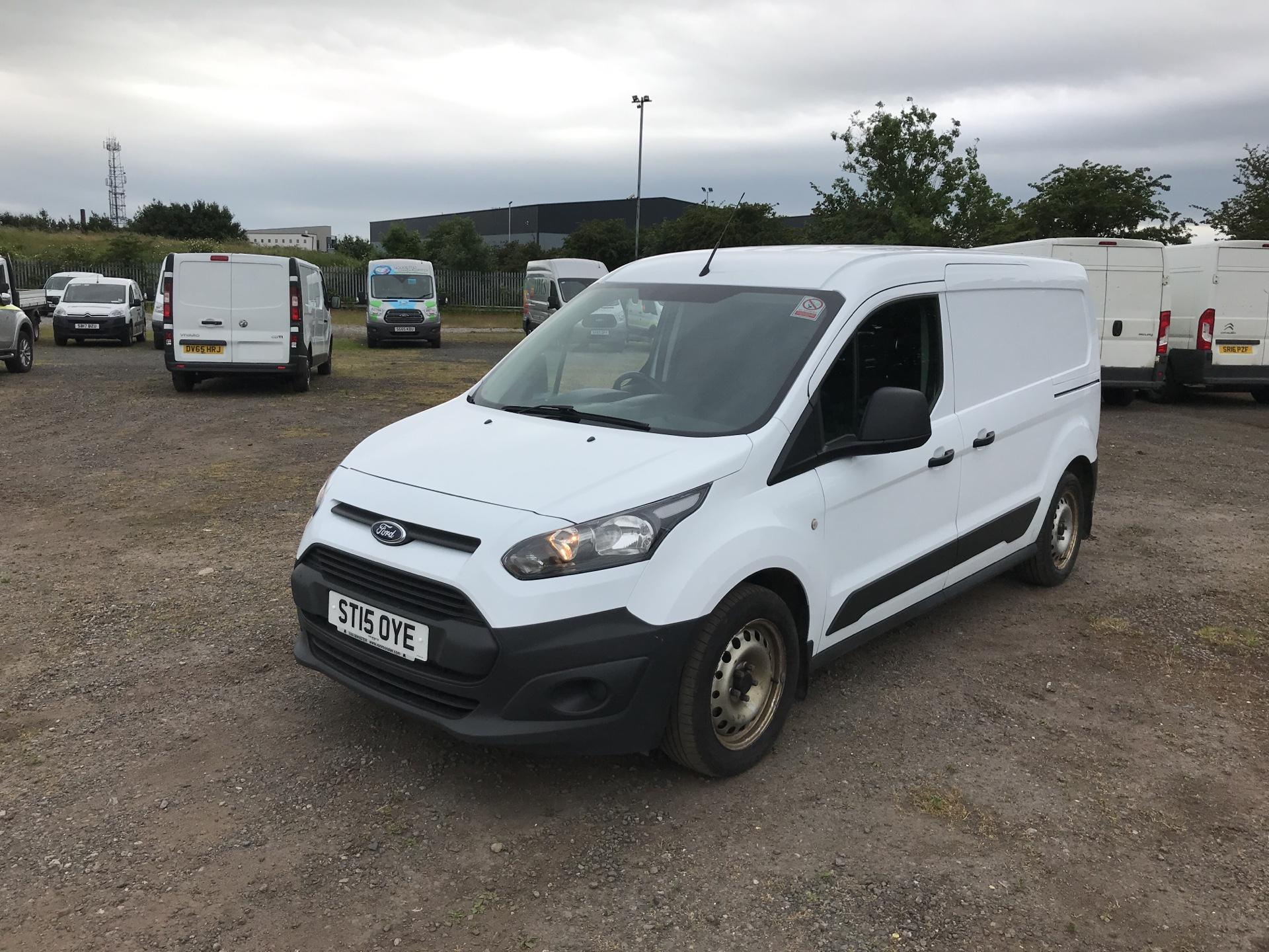 2015 Ford Transit Connect 1.6 Tdci 95Ps D/Cab Van (ST15OYE) Image 7