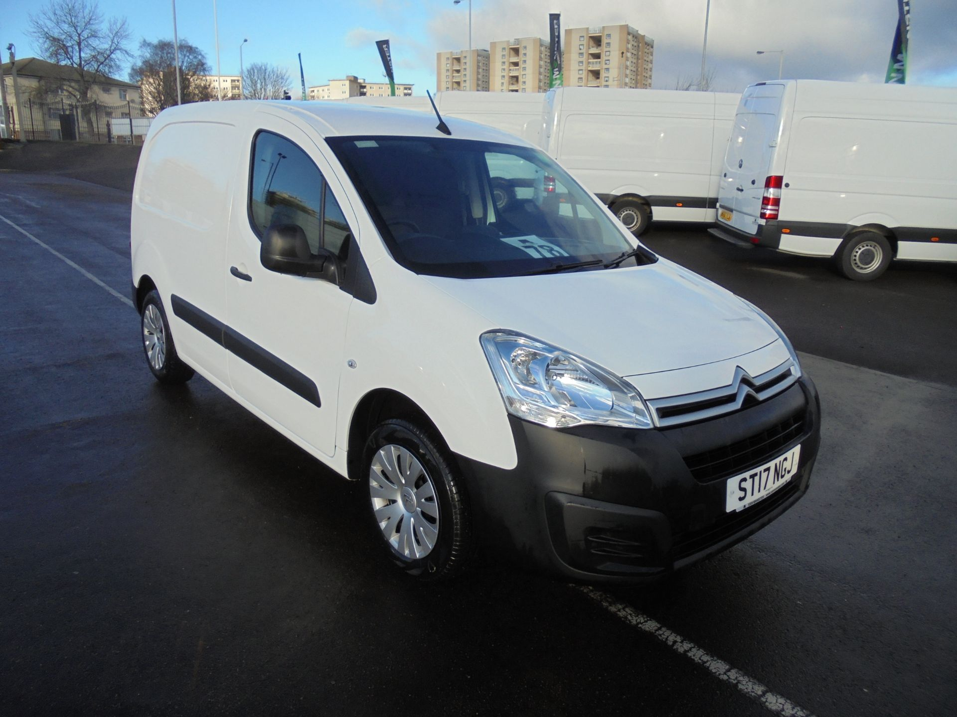 2017 Citroen Berlingo 1.6 Bluehdi 75Ps 625Kg L1 Enterprise  (ST17NGJ)